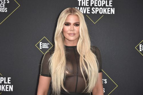 Khloé Kardashian's Photo Of True With A Pink Christmas Tree Is Just Too Cute