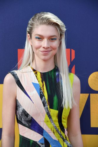Hunter Schafer's Makeup Routine Is As Bold & Graphic As You'd Expect