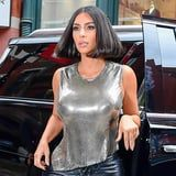 Kim Kardashian Just Debuted a Sleek Bob Haircut, and It's the Shortest It's Ever Been