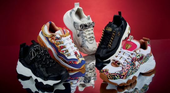 Skechers' Premium Heritage Holiday Collection Is Full Of Statement-Making Kicks