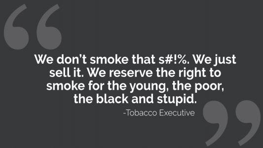 History of Tobacco Impacting African-American Communities