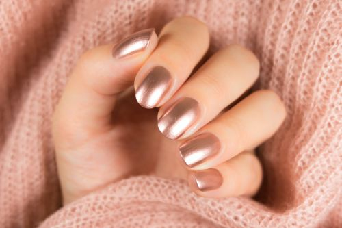 The 6 Best Rose Gold Nail Polishes