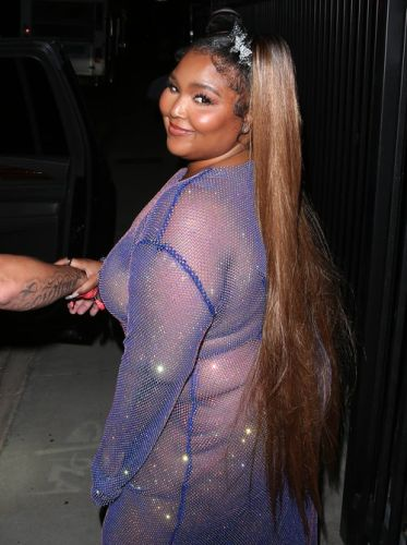Lizzo's Response To Hate Over Her See-Through Dress Is Heated
