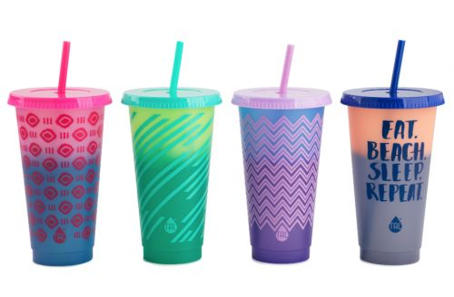 Walmart's Color-Changing Reusable Cold Cups Feature Instagram-Worthy Hues