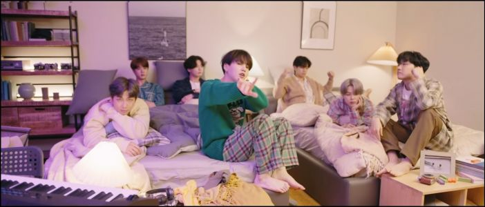 "What Do BTS' ""Fly To My Room"" Lyrics Mean In English? Jimin, V, Suga, & J-Hope Invite ARMYs Over"