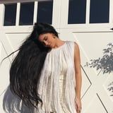 Kylie Jenner Just Traded Her Naturally Short Hair For Extensions That Practically Touch the Floor